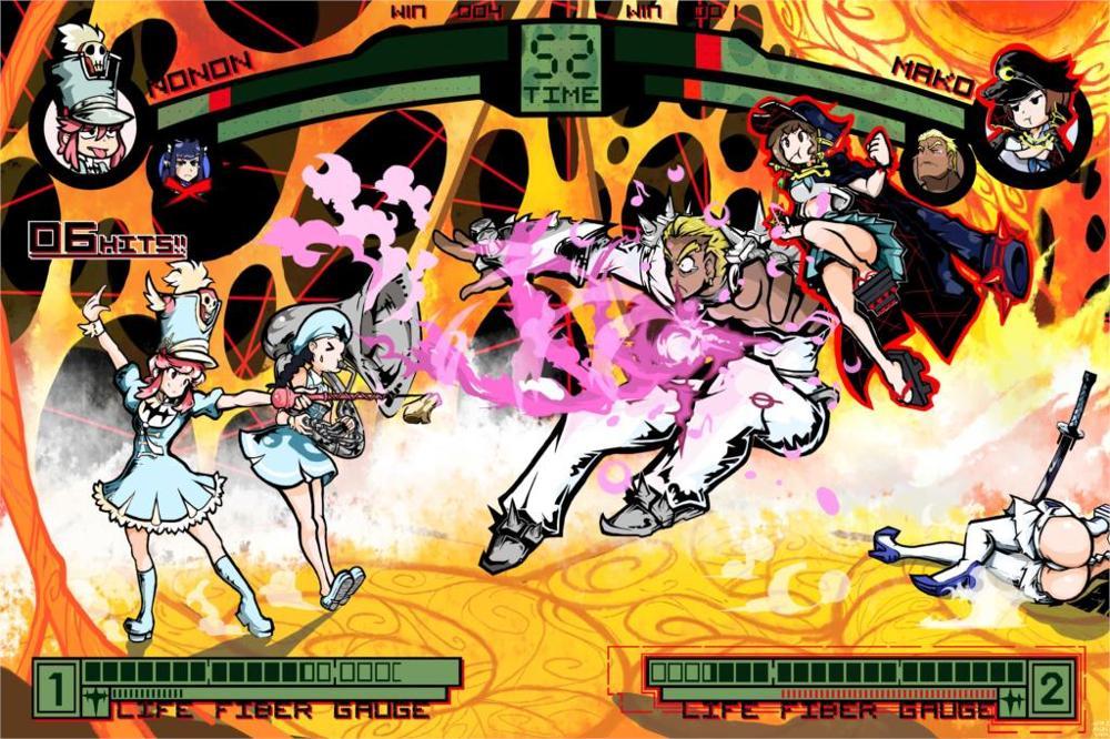 Kill la Kill video games fighting video games 4 Sizes Silk Fabric Canvas Poster Print(China (Mainland))