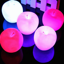 2015 Christmas New Year Party Decor Color Changing LED Lamp Night Light Lighting(China (Mainland))