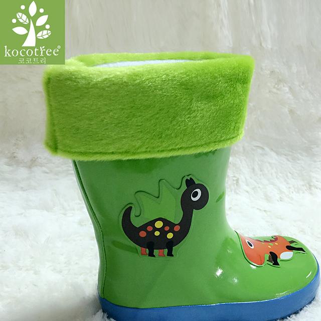 Дети дождь загрузки Обувь подкладка зимняя обувь стельки мальчики девочки ребенок снега сапоги Хлопка обувь Зима Теплая подкладка Резиновые Сапоги подкладка