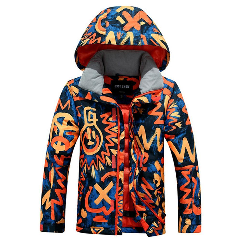 New winter boy jacket children ski wear 2017 windproof ski jackets children girls boys outdoor warm coat snow clothings(China (Mainland))