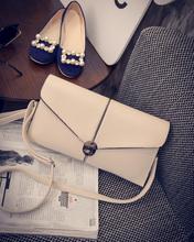 Buy 2016 new arrival women's PU envelope bag retro buckle wild shoulder handbag fashion handbag Messenger packet zs365 for $30.36 in AliExpress store