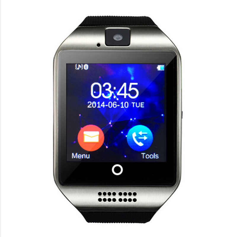 lots Youth Sport Smart Watch Q18 with Touch Screen camera TF card Bluetooth Support Sim TF Card Bluetooth NFC For Smart Watch(China (Mainland))