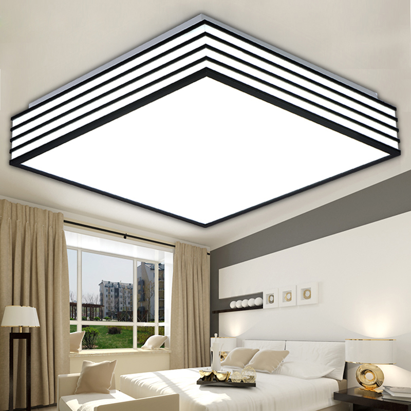 Alibaba Modern Ceiling Lights : Square modern led ceiling lights living lamparas de techo