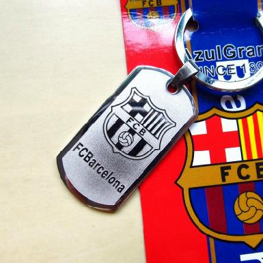 2014 Football Accessories Soccer Fans Club Key Chain Souvenir Soccer Keychain Men Key Rings Key Holder RealMadrid Barca Ac Milan(China (Mainland))