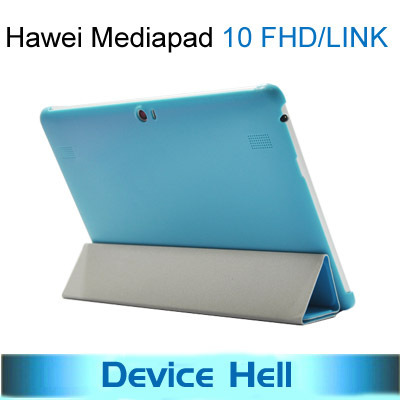 2013 new arrival Original Ultra-thin Stand Flip leather case cover for Huawei mediapad 10 FHD 10 Link+Screen Protector Free ship