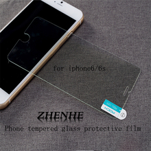 For iphone 6s glass 2.5D 0.3mm Premium Tempered Glass Screen Protector for iPhone 6 6s 5s SE Toughened protective film 4.7inch