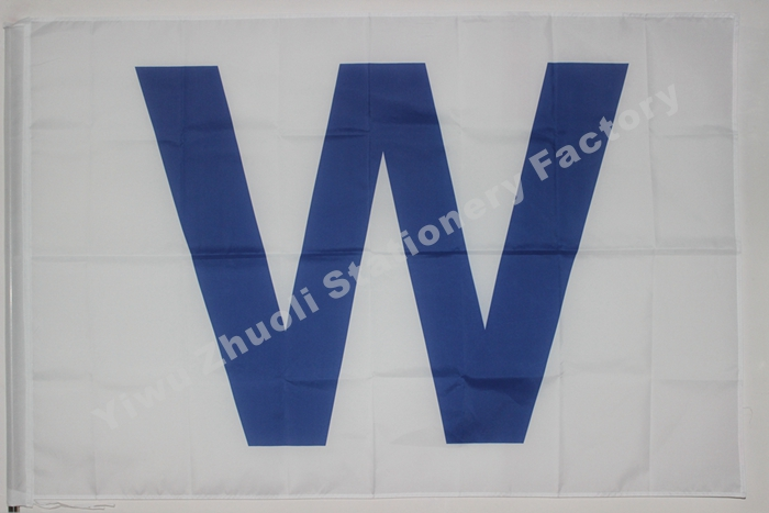 Chicago Cubs Team W Flag MLB Banner 3x5FT CCW01(China (Mainland))
