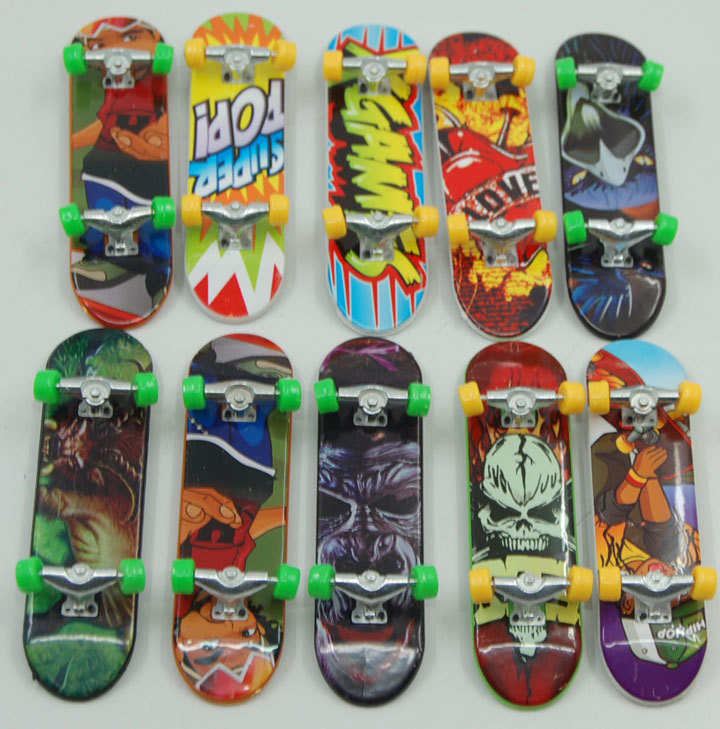 10 pçs/lote Mini dedo Skate Unti suave meninos de dedo Skate Fingerboard frete grátis(China (Mainland))