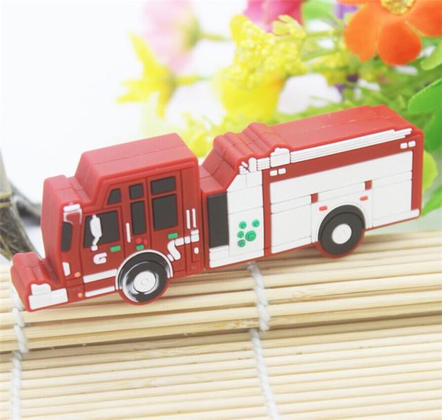 Fire truck USB 2.0 flashdrive