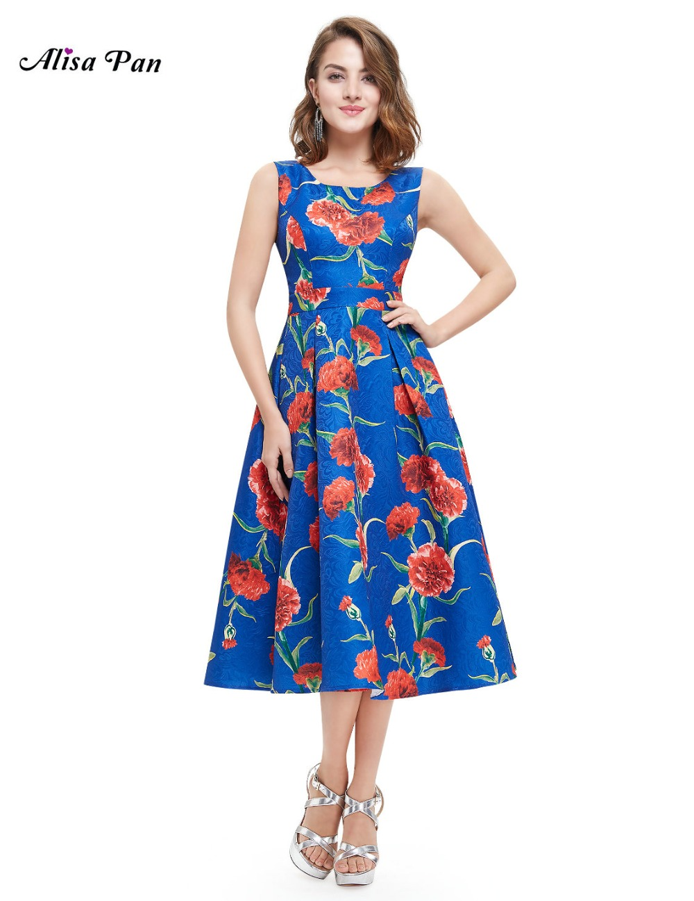 Women Clothing Dresses Alisa Pan AP05443 Simple Fashion Round Neck Short Casual Dress(China (Mainland))