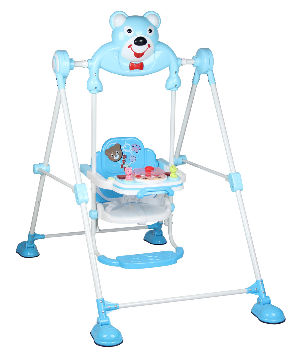 Outdoor baby swing - 2016 New Style Swing For Children Infant Child Indoor Outdoor Swing Baby Swing Frame Music