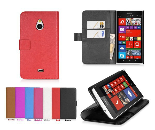 Lumia 1320 Case,2014 New Mobile Phone Bag,Luxury Wallet Stand Leather Case for Nokia Lumia 1320 With Credit Card Holder(China (Mainland))