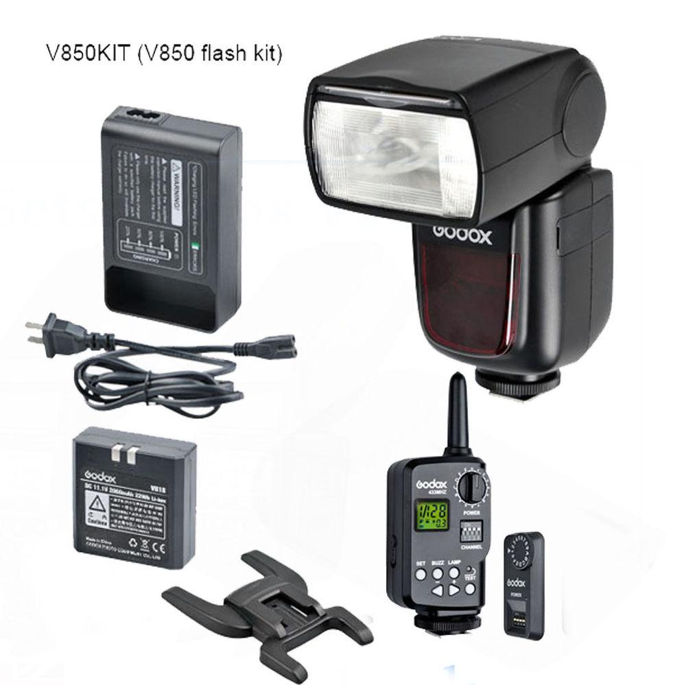 Godox VING V850 Li-ion Flash Speedlite with FT-16S Trigger Set for Canon Nikon<br><br>Aliexpress