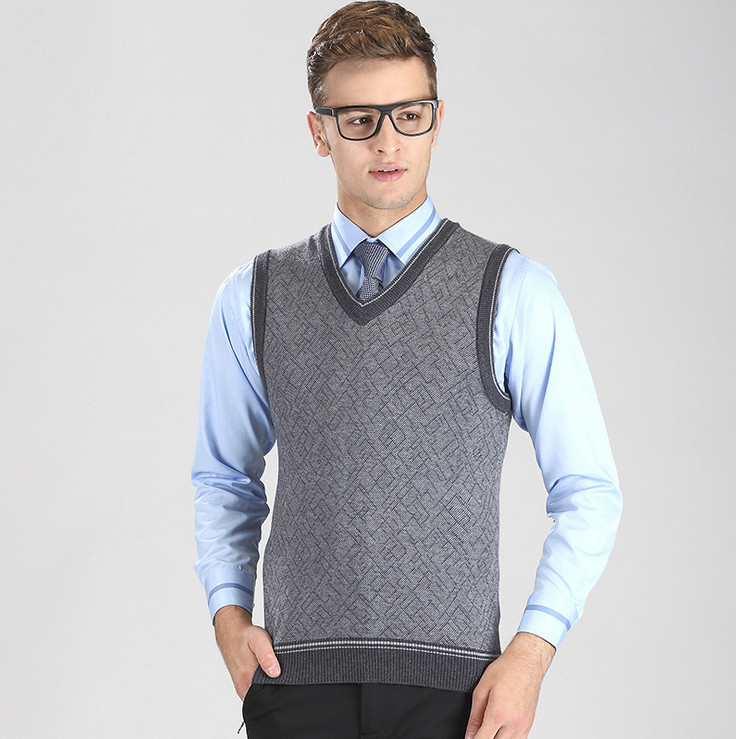 Apparel Man Sweater Vest - Cashmere Sweater England