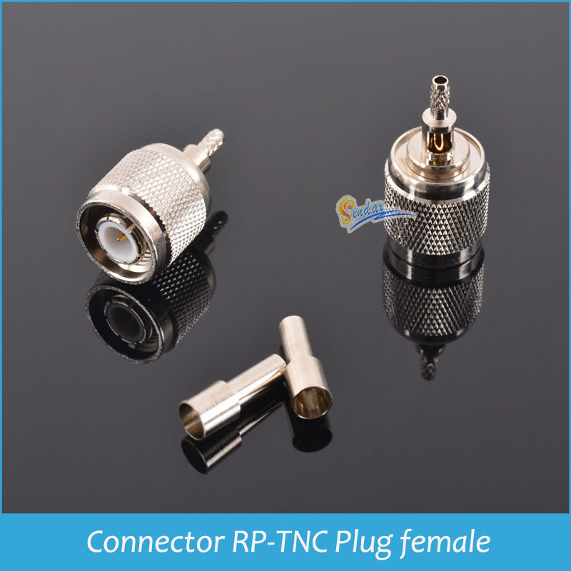 Coaxial Connector TNC-J-1.5 Plug male TNC connectors Pin connector crimp for LMR100 10 pcs/lot Drop shipping<br><br>Aliexpress