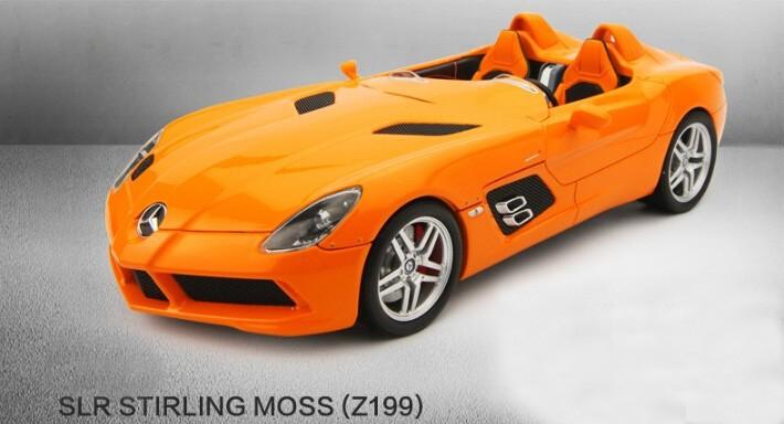 Minichamps 1:18 SLR STIRLING 2009 mannequin automobile assortment grade alloy mannequin automobiles