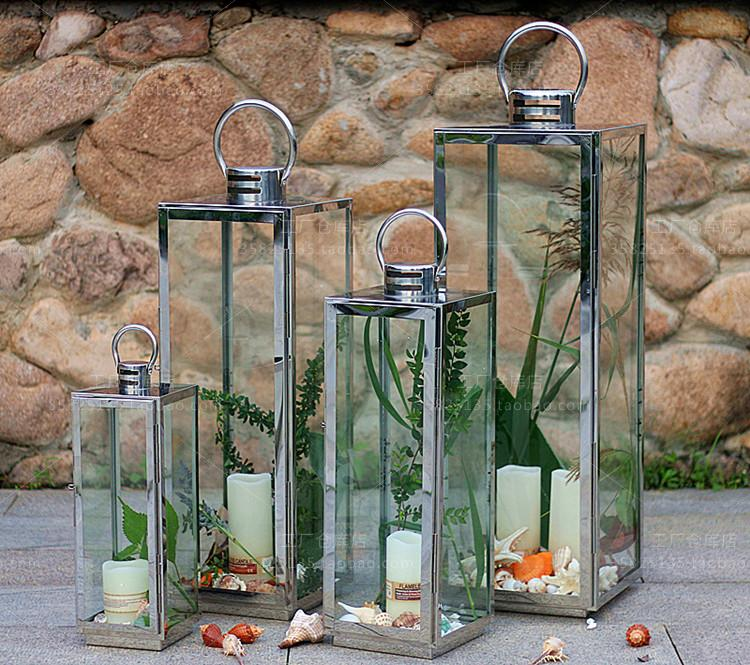 Online buy wholesale large outdoor lanterns for candles for Lanterne deco exterieur