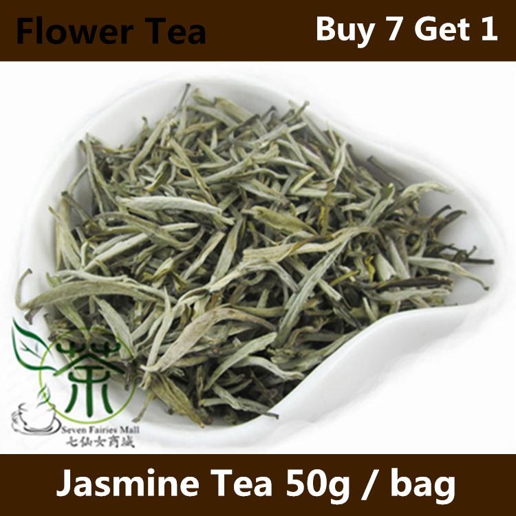 Organic Jasmine Flower Tea 100g Yunnan King Tea 50g*2, Health Care Premium Jasmine Tea, Organic Beauty Green Jasmine Tea MLH#J1<br><br>Aliexpress