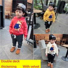 Cartoon 6 8 Baby Boys Girls Kids Coat Hoodie Jacket Sweater Pullover Outwear(China (Mainland))