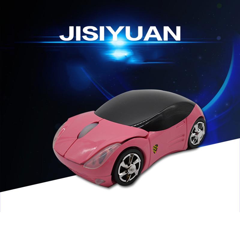 New Ergonomic Mouse Recahrgable Ferrari Optical Wireless Mouse inalambrico Gaming Optical Vertical3 gears DPI adjustable Mouse(China (Mainland))