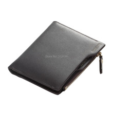 1PC New 2015 men wallets Faux Leather Bifold Wallet ID credit Card holder Coin Purse Pockets
