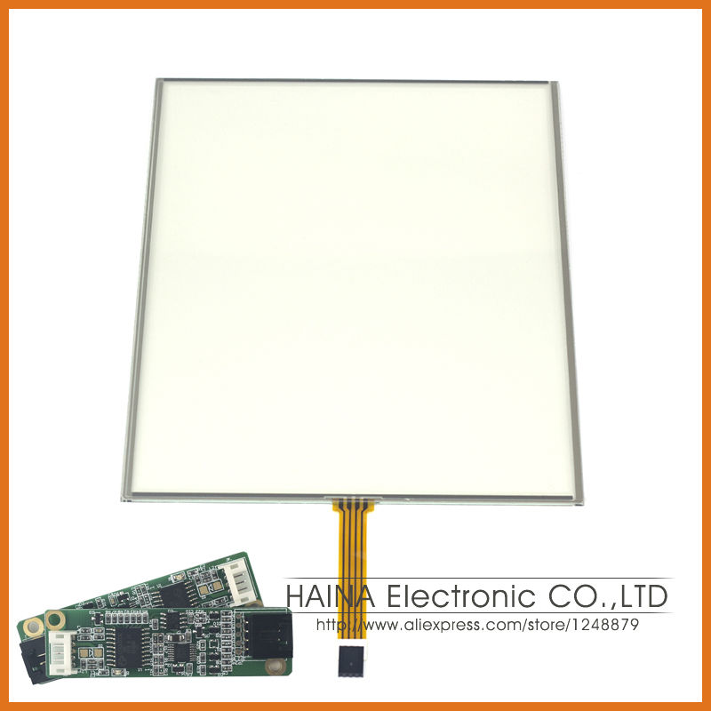 4:3 17 Inch includes USB Controller 4 Wire Resistive Touch Screen Panel For photobooth/photo kiosk/Laptop<br><br>Aliexpress