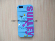 3D Cute Curtains Sulley Silicon Protective Cases Covers Skins Shields Housings for iPhone 5 5S 5C with Freeshipping(China (Mainland))