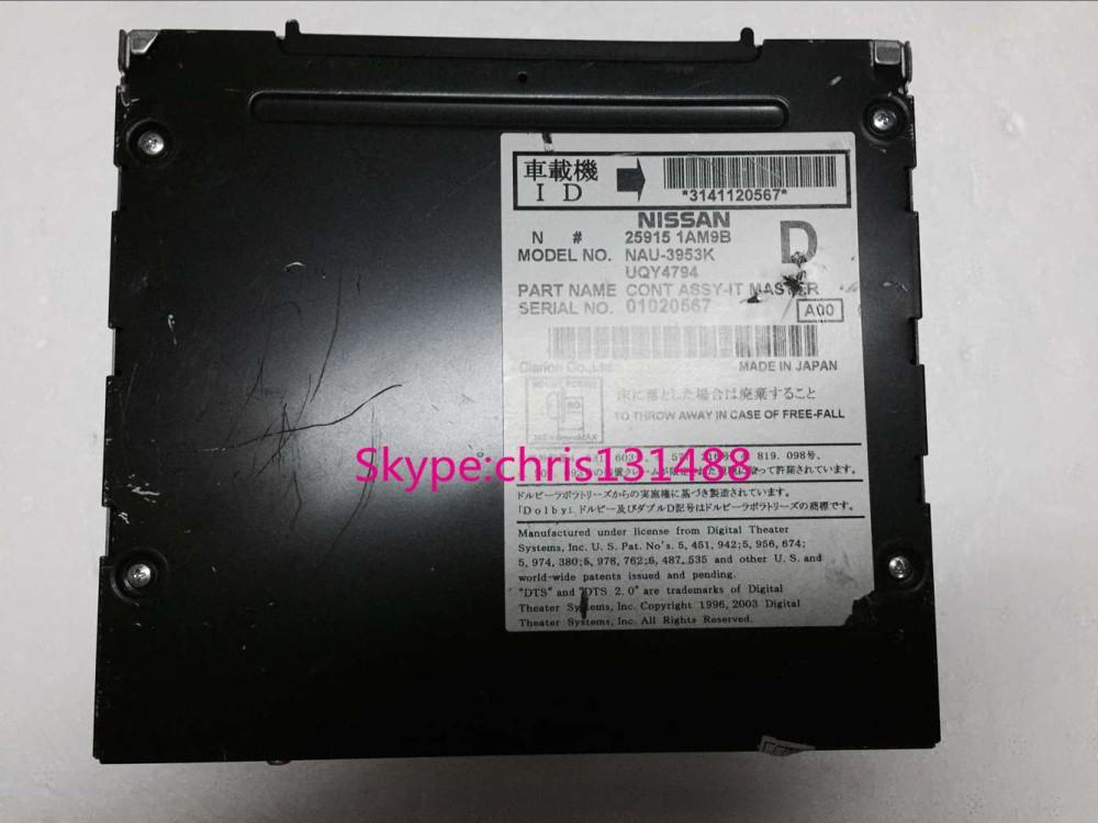 Ni-san Xanavi CONT ASSY-IT MASTER HDD car dvd navigation unit 25915 1AM9B 1EK8B NAU-3953K NAU-3421K NAU3311K made in Japan(China (Mainland))