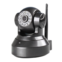 720P 1.0MP HD Wireless IP Camera IR Night Vision Surveillance Camera WIFI Built-in Microphone Two-way Audio Voice Phone 4pcs/lot