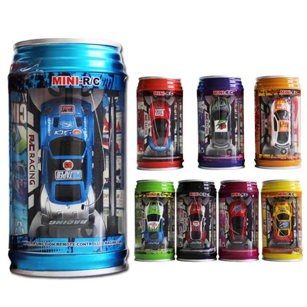 Coke Can Mini Speed RC Radio Remote Control Micro Racing Car Toy Gift Random Color(China (Mainland))