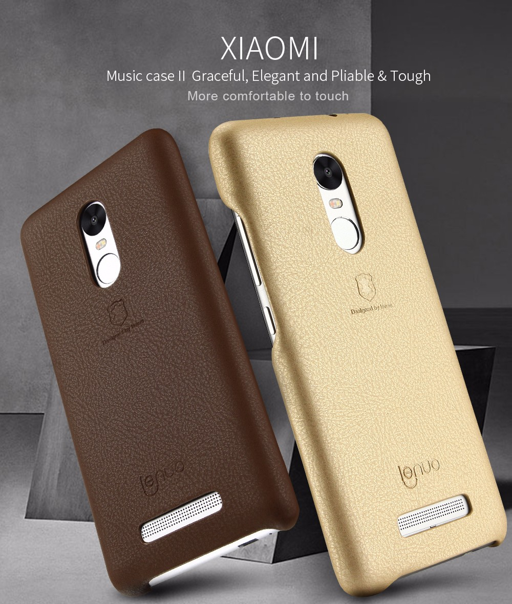 Wholesale Lenuo Case For Xiaomi Redmi Note 3 Pro Special Edition 152mm 55 Inch Phone Bag Cover