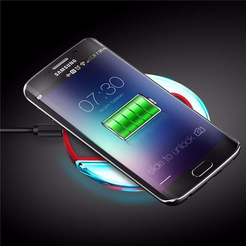 Newest Wireless Charger Inductive Mobile Phone Charger for iPhone 6 6s Samsung Note7 S6 / S7 edge / S7 edge Nexus 4/5 Nokia