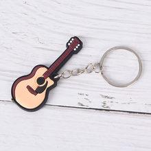 Новые Дизайны для гитары/брелок в форме скрипки классический автомобильный брелок Музыкальные инструменты кулон для мужчин и женщин подар...(China)