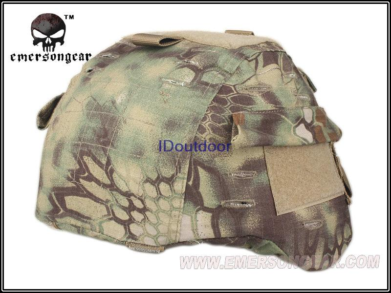 MICH Helmet Cover For:MICH2000 Emerson helmet accessories EM8973A Kryptek Mandrake(China (Mainland))