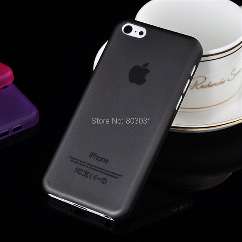 Black 0.3MM Ultra Thin Slim Matte Apple iPhone 5C Cover Case Moblie Phone Protection Shell - ITECH TRADING STORE store