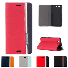 Buy Flip Case Sony Xperia Z 3 Compact Z3 mini D5803 D5833 M55W Case TPU Back Phone Leather Cover Sony Xperia Z3mini para for $4.47 in AliExpress store