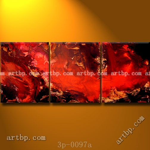 The Truth Stings Oil Painting On Canvas Hallway Decorations 3 Panel 3 Pcs /Set Dining Room Paintings Wall Decor Landscape Canv(China (Mainland))
