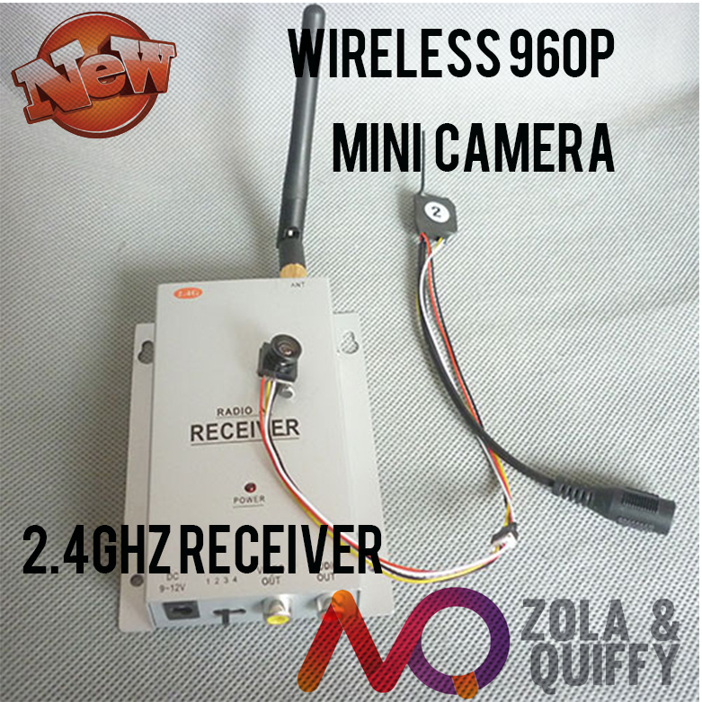 freeshipping!!!2.4G wireless receiver +170 degrees HD mini Audio camera micro 600TVL camera with mic(China (Mainland))