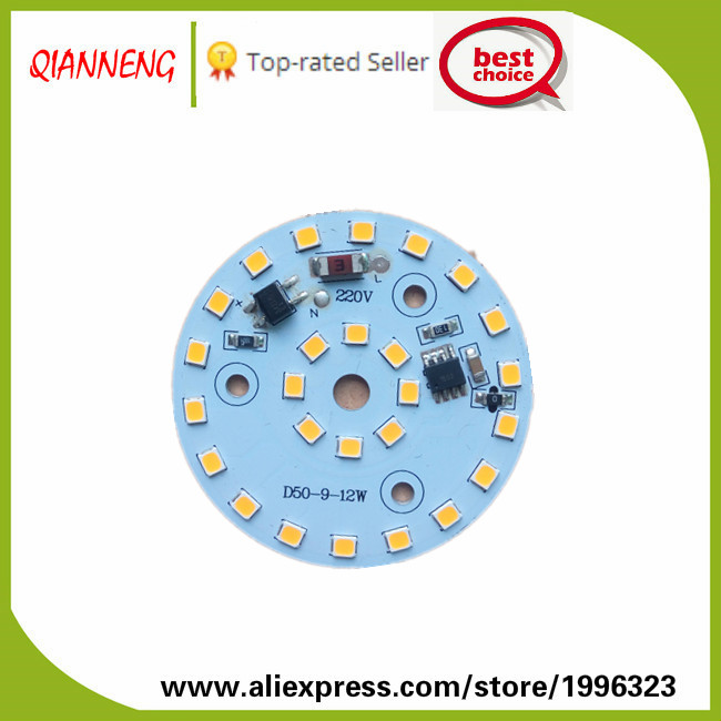 High voltage Driver on board downlight aluminum pcb led module 220V No need driver supplier(China (Mainland))