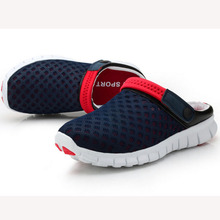 New 2016 Men Slippers Shoes Fashion Breathable Hollow Out Sandals Flip Flops Leather Trend Of The Drag 850370(China (Mainland))