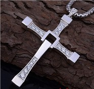 Speed-5-Fast-and-Furious-6-moive-necklace-Dominic-Toretto-cross-silver-plated-vin-diesel-cross