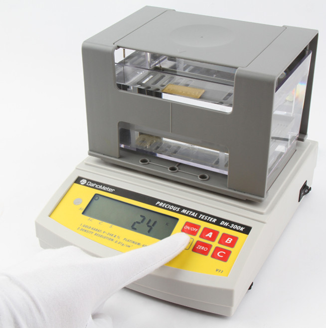 New Electronic Gold Tester : Da k dahometer years warranty electronic digital gold
