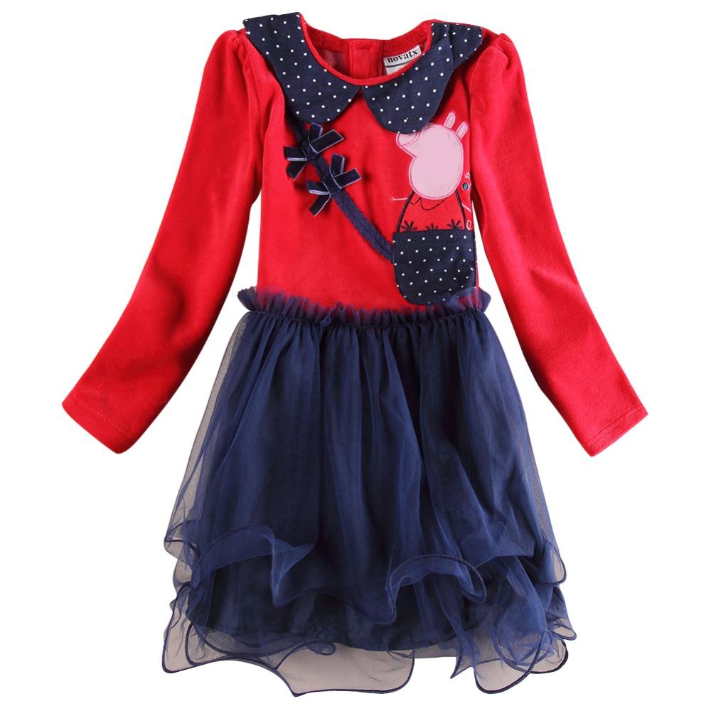 girl dress baby clothing nova brand girls dress embroidery girl party dress vestidos de menina dress for girls<br><br>Aliexpress
