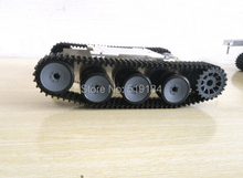 SN1800 Metal Aluminium alloy Robot Tank Chassis Rugged Powerful Supper big(China (Mainland))