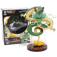 Dragon Ball Z Shenron + Montanha Suporte + 7 Bolas De Cristal PVC Figuras Colecionáveis Brinquedos Modelo(China)