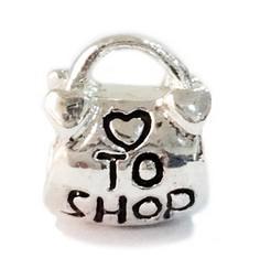 Гаджет  Min order $10 Free Shipping Jewelry 925 Silver Bead Charm European Heart shop Handbag Bead Fit Charm Bracelets & Bracelet H512 None Ювелирные изделия и часы