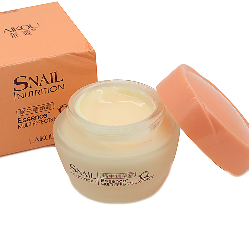 Face Care Cream Nutrition Snail Cream Snail Essence Moisturizing Anti-Aging Cream Anti Wrinkle Day Cream Multi-Effects Extract<br><br>Aliexpress