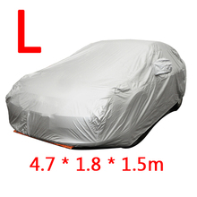 Sedan Universal Car Covers Styling Indoor Outdoor Sunshade Heat Protection Dustproof Anti UV Scratch Resistant(China (Mainland))