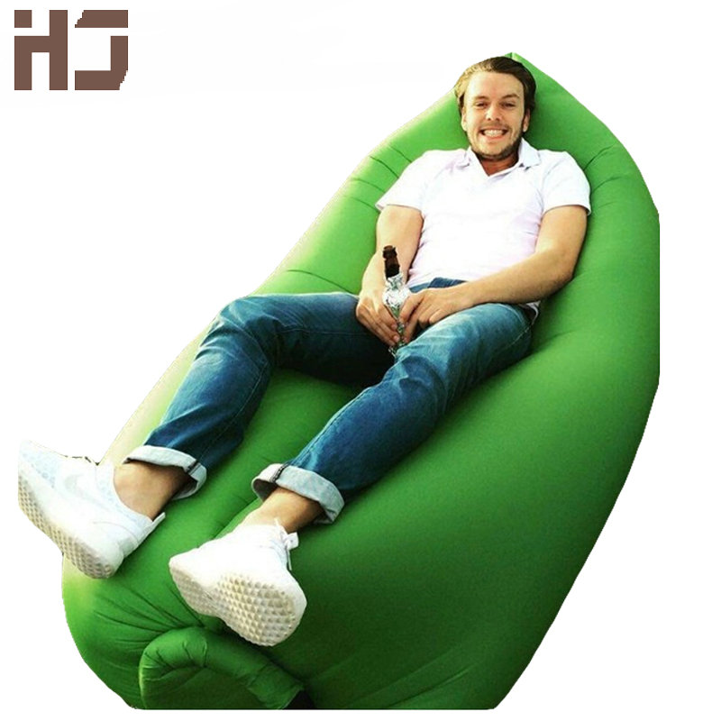 2016 Fashion Inflatable Sofa High Quality Outdoor Sleep Relaxation Air Sofa Colorful Water-proof Folding Inflatable Sofa JCW117(China (Mainland))