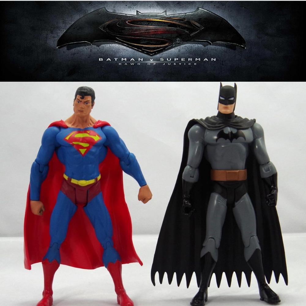 2016 Batman v Superman Dawn of Justice 18cm Action font b Figure b font Toys toy
